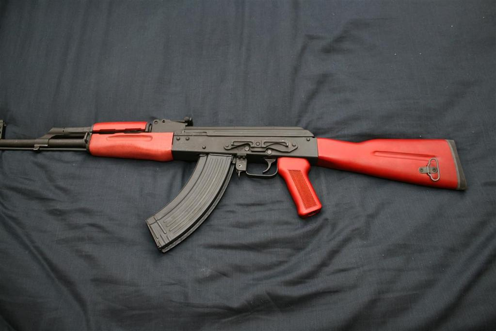 New Timbersmith Premium Red Stock Kit on old WASR